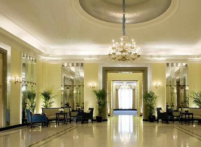 Claridge ballroom reception area