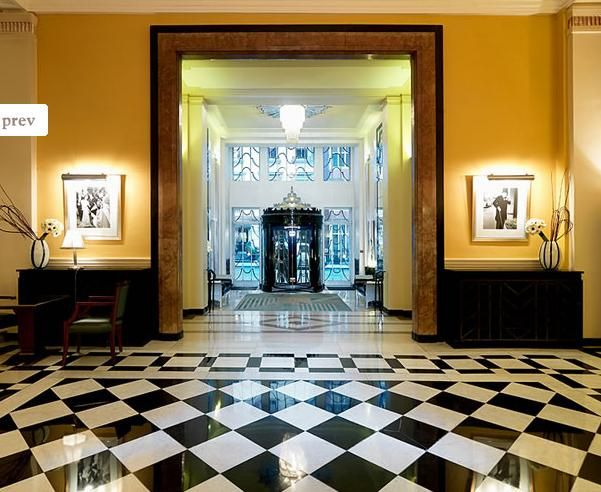 Claridge's entrance