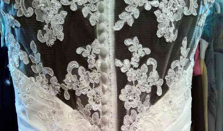 """""""isla"""" with lace back detail"""