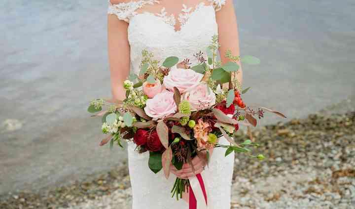 Wild bridal bouquet Moray