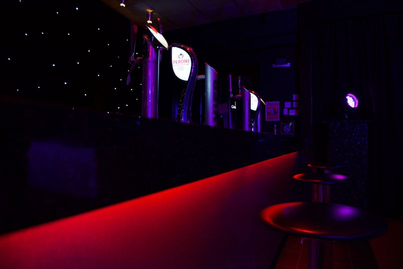 The Coniston suite bar