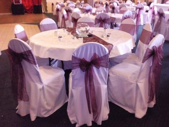 Chair and table linens