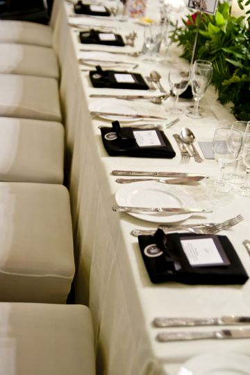 Napkin hire and design