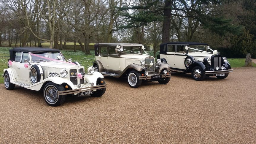 Vintage Fleet at Deene Park