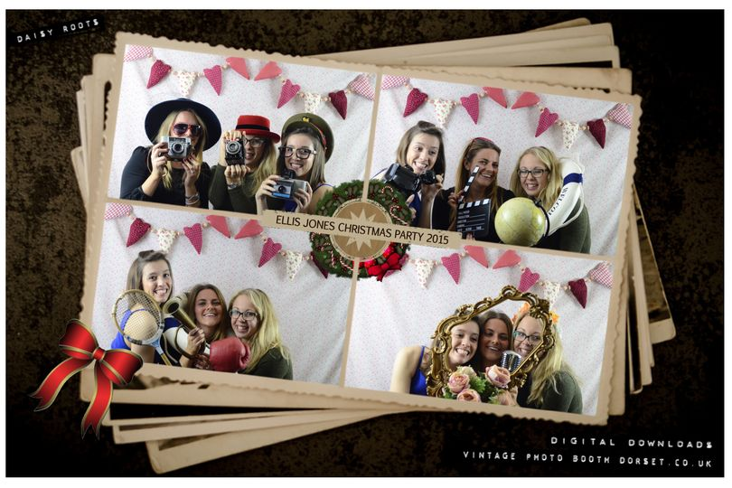 Vintage photo booth dorset