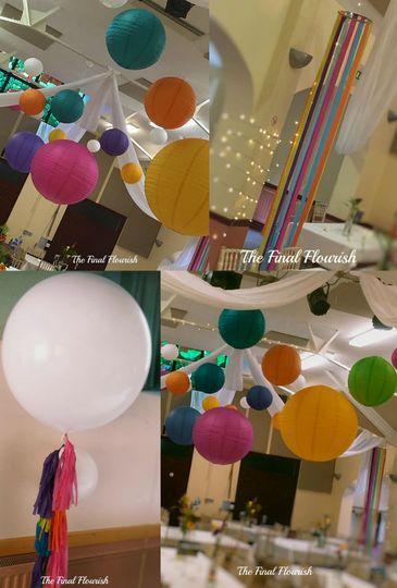 Lanterns, Lights and Drapes