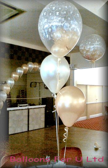 Stuffed Balloon Table Decoration