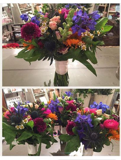 Our Vivacious Bridal Bouquet
