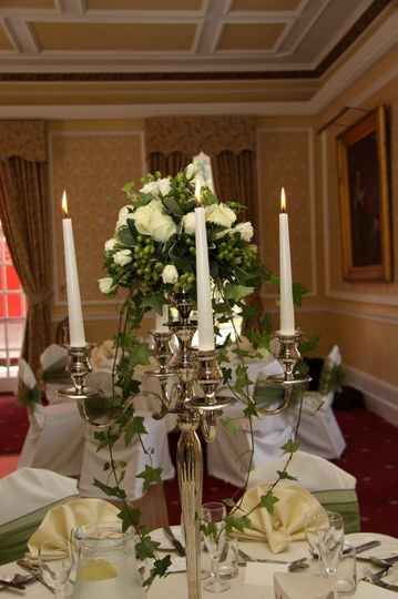 Table Centre with Candelabra