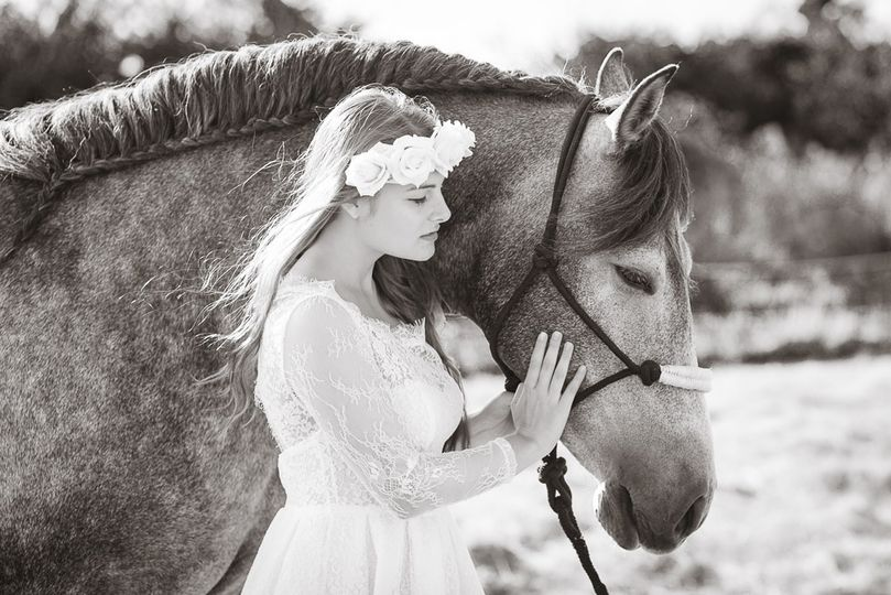 Horse bridal shoot