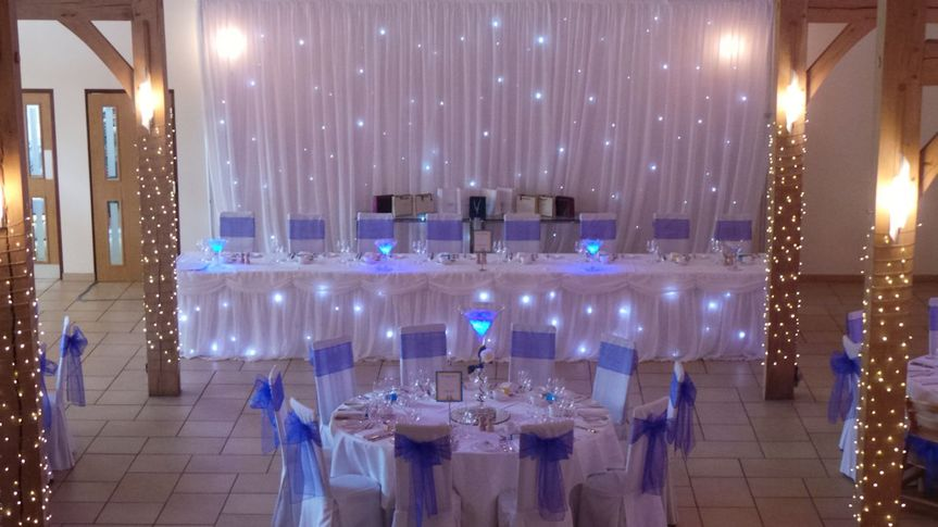 Twinkle Light Backdrop Amp Skirt From Busy Bee Events Photo 1
