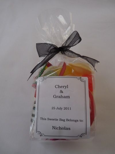 Personalised Sweetie Bag
