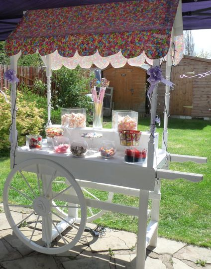 Birthday Candy Cart