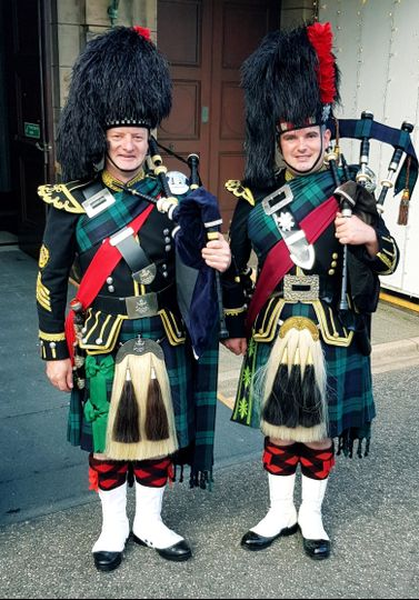 Additional pipers available