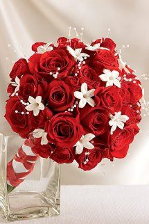 Dazzling Red Rose and Stephanotis Scented