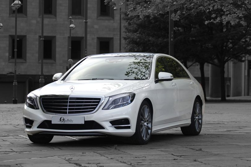Mercedes wdding car hire