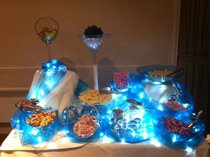 Candy buffetwith service