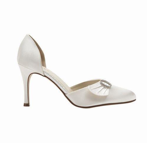 Heather bridal shoes
