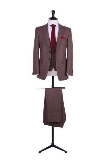 Tweed lounge suit