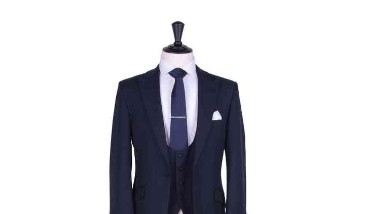 Navy light weight lounge suit