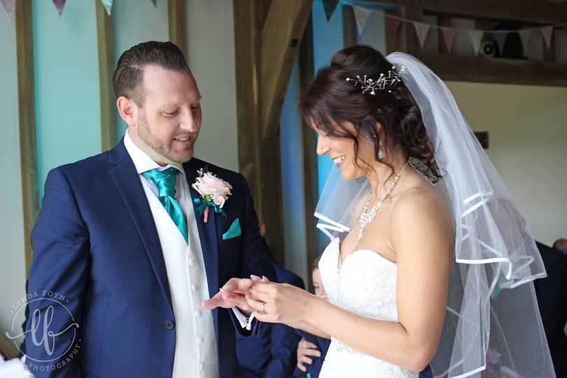 Exchanging Rings Photograph