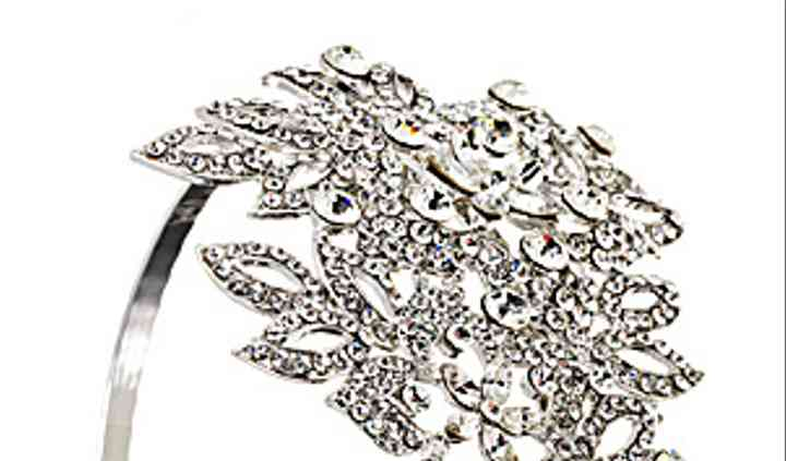 Swarovski Crystal Hair Piece