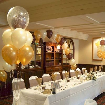 all kinds of wedding balloons