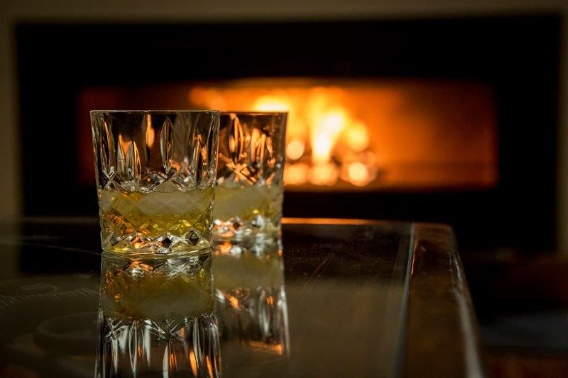 Whiskey by the fire