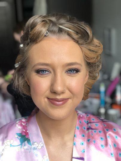 By Kerri bridal makeup