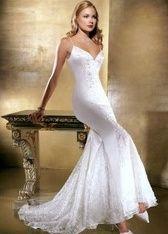 Figure flattering gown