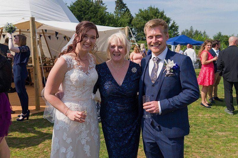 Wedding in Shotley Vineyard