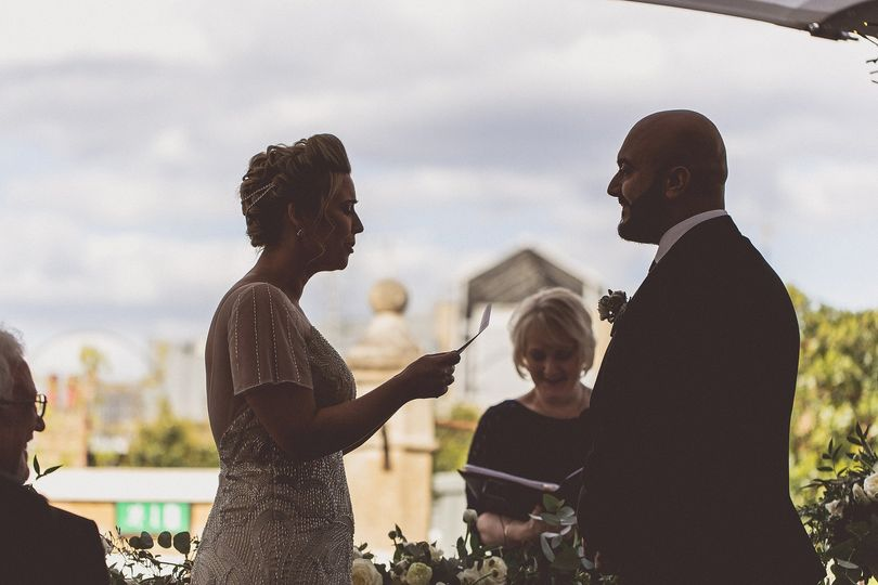 Vows at Ham Yard Hotel