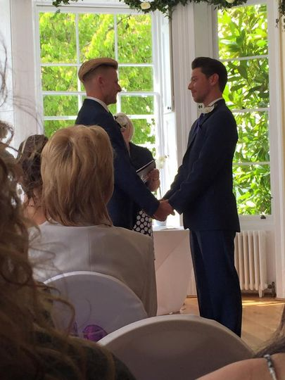 Same Sex Wedding May 2015