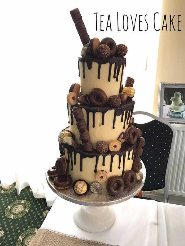 Chocolate Explosion Cake From Tea Loves Cake Photos