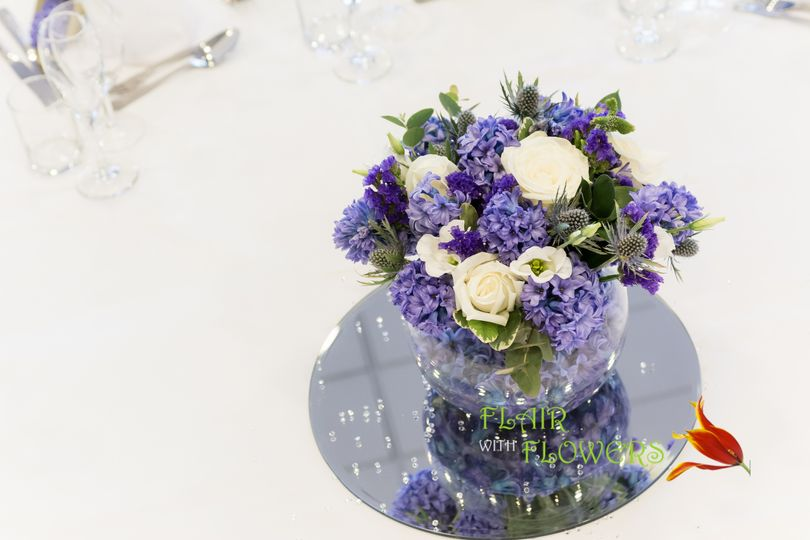 Wedding Venue Table Decoration From Flair With Flowers Photo 77