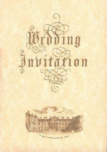 Renaissance invitation