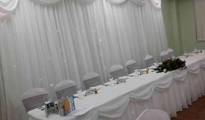 Starlight backdrop & table