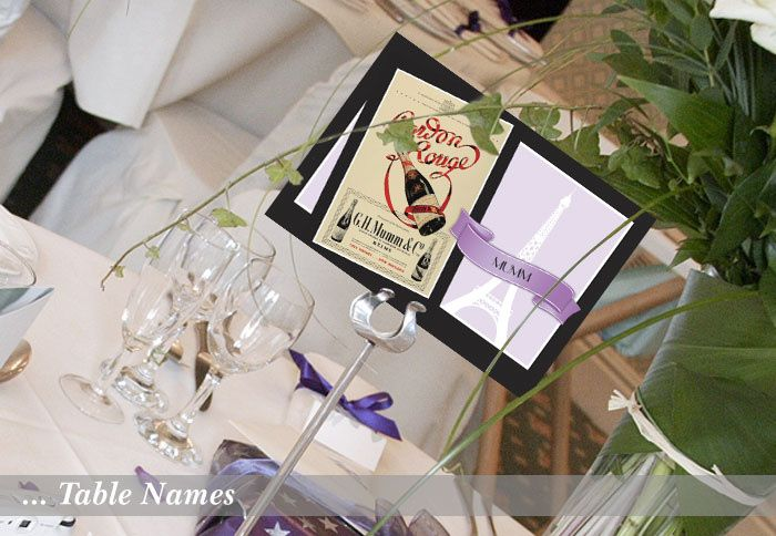 Champagne Wedding Table Plan