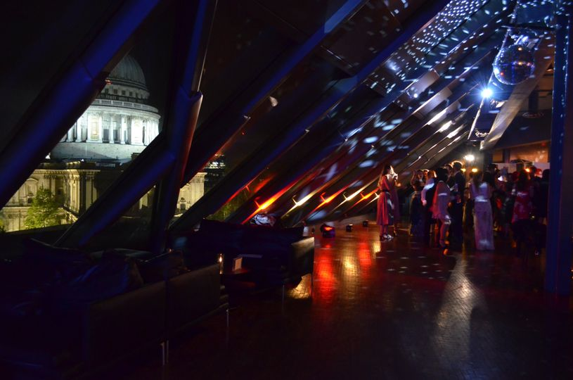 Stunning dance floor