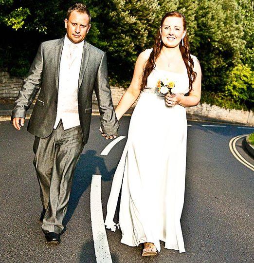 Bride and Groom - Stylised