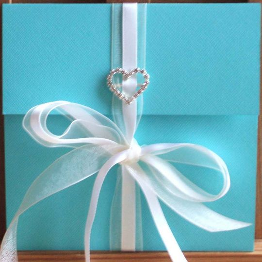 Tiffany wallet invitation