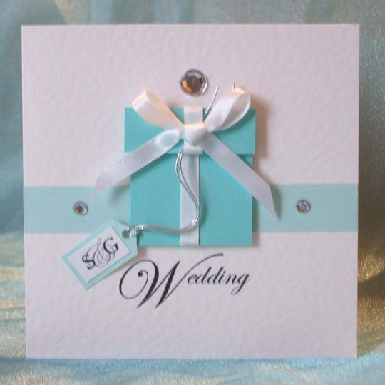 Tiffany box invitation