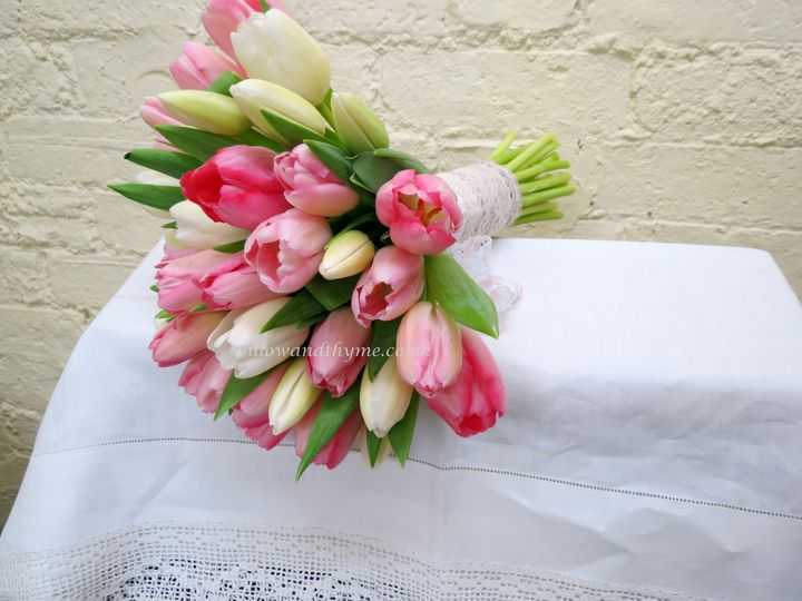 A Spring Tulip Bouquet