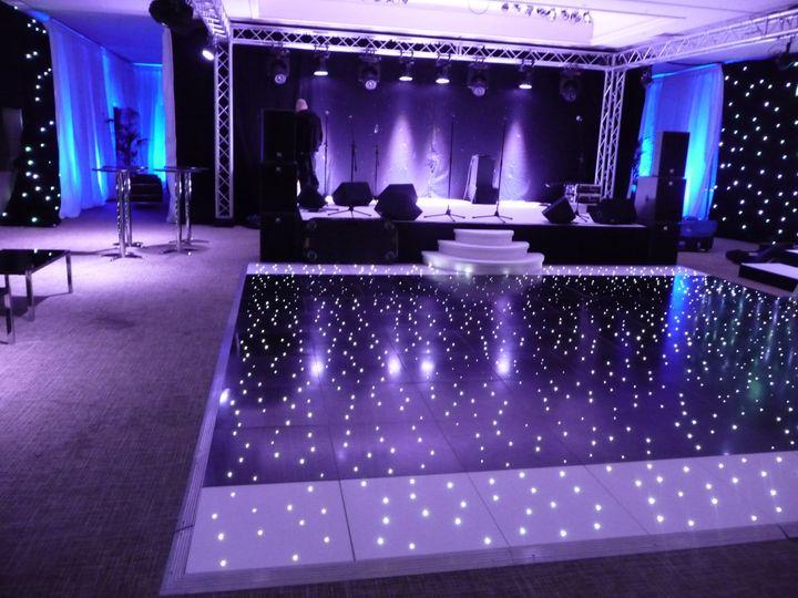 Nightclub setup at mere resort