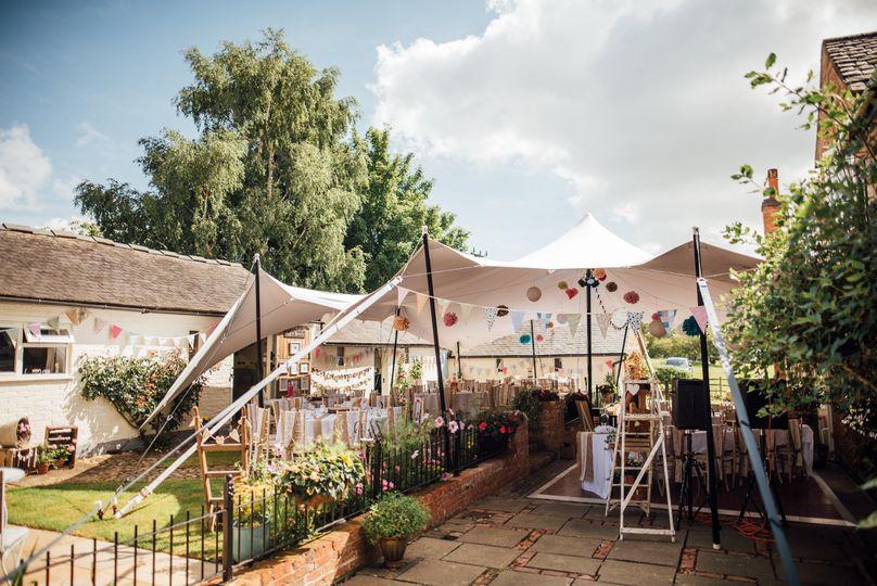 Country garden wedding