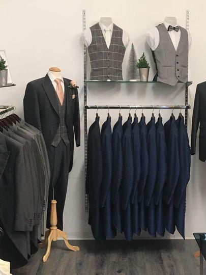 SG Menswear inside