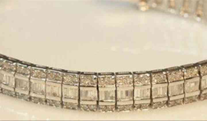 White gold, diamond bracelet