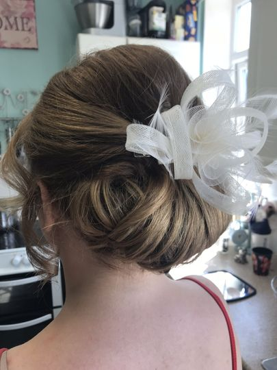 Guest hair up