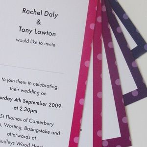 The Rachel Contemporary Wedding Stationery