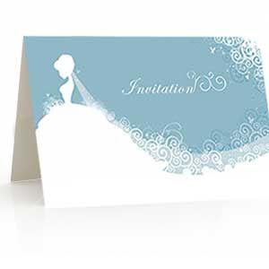 Bridal Scroll Chic & Cheap Wedding Stationery